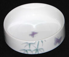St Michael Trinket Dish Purple Butterfly 5982/5567 Made In Japan