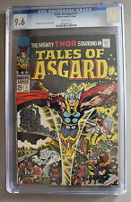 Tales of Asgard 1 Giant Thor 1968 Kirby Stan Lee Norse Gods Movie Tv Cgc Nm+ 9.6