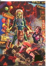 Mars Attacks Invasion Masterpieces Chase Card #2