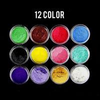 12 Color Mica Pigment Powder Perfect for Soap Cosmetics Resin Colorant Dye hi