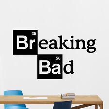 Breaking Bad Logo Wall Decal Movies Cinema Vinyl Sticker Art Decor Mural 52zzz