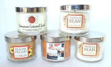 Bath & Body Works ~ Pumpkin Cupcake * Cinnamon Swirl * Vanilla Bean Mini Candles
