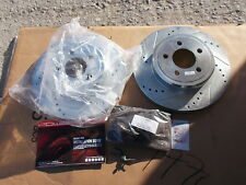 NEW PowerStop KC2853 Brake Rotor Kit, Incomplete  *FREE SHIPPING*
