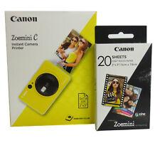 CANON Zoemini C Sofortbildkamera,bumblebee yellow  mit Film * Fotofachhändler *