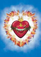 Religious Image/Icon United Hearts of the Holy Trinity + Jesus + Immaculate Mary