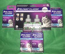 Feliway Classic Diffuser Kit Pheromones refills for Cat Kitten Constant Calming