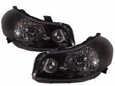 SX4 MK1 2007-2013 Sedan/Hatchback 4D/5D Clear Headlight Black V1 for SUZUKI LHD