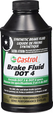 Castrol 12509 Dot 4 Brake Fluids 12 Oz Bottle Exceeds DOT 3, DOT 4 Car Parts New