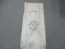 FEED SEED BAG BEMIS A SEAMLESS Extra Heavy cotton canvas grain SACK farm KETTER