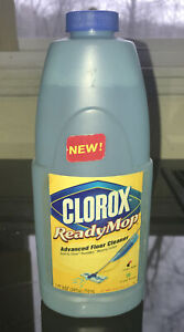 Clorox Ready Mop Advanced Floor Cleaner Refill Replacement Bottle 24 oz New