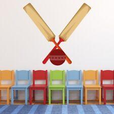 Bat & Ball Cricket Adesivo Murale WS-50574