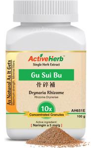 Activeherb Drynaria Rhizome 10X Extract Granule Gu Sui Bu Concentrate 100 g