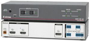 Extron Two Input HDMI Switcher - SW2 HDMI with Power Adapter