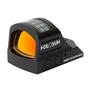 HOLOSUN HS507C-X2 LED Red Dot Sight (Dot/Circle/Circle Dot)