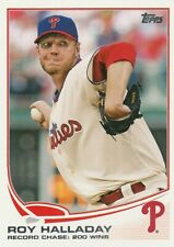 Roy Halladay 2013 Topps Baseball Checklist Card #264 Phillies NM+/Mint