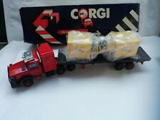 Corgi Diecast Scammel Truck Flatbed with Load