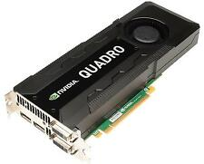 Nvidia Quadro K5000 4GB GDDR5 256-bit 173GB/s PCI-e Graphics Card ~ New+Warranty