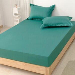Spannbettlaken Spannbettuch 180x200cm Jersey Bettlaken Gummizug Leintuch Bettuch