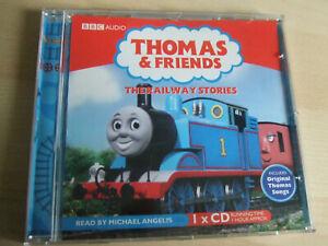 BBC Audio Book Thomas The Tank Engine THE RAILWAY STORIES Michael Angelis 60 Min