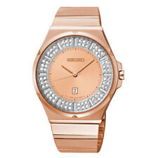 Seiko Stainless Steel Case Women's Wristwatches