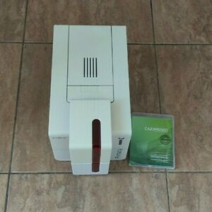 For sale is this Evolis Primacy Expert Single Sided Colour ID Card Printer