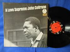 JOHN COLTRANE LOVE SUPREME IMPULSE STEREO ORIG BIEM FRANCE EXC+ SUPERB