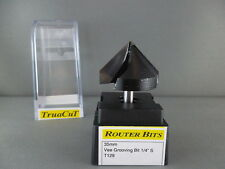 Router Bit 35mm V Grooving Bit T129 (TruaCuT)