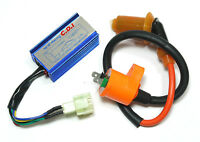 GY6 Racing CDI Box + Ignition Coil Scooter ATV Buggy Moped 50cc 110cc 125cc 150c