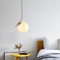 Modern Nordic Decor Glass ball LED Pendant Lamp Ceiling Lamp Chandelier Lighting