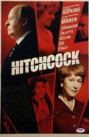 Helen Mirren Signed Hitchcock 12x18 Photo PSA/DNA Auto B