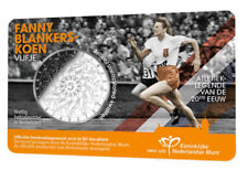 2018 Netherlands €5 Euro Silver-Plated BU Coin Sports Icons: Fanny Blankers-Koen