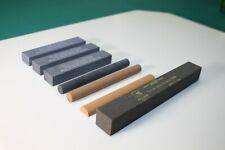 (7) Machinist Oil Stone India Crystolon Norton Bear Oilstone Gunsmith NOS #745