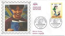 2001 - ENVELOPPE 1er JOUR N° 3370 - GASTON LAGAFFE - FETE du TIMBRE