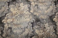 Large Grey Damask Firenza Cindersmoke Covington Fabric