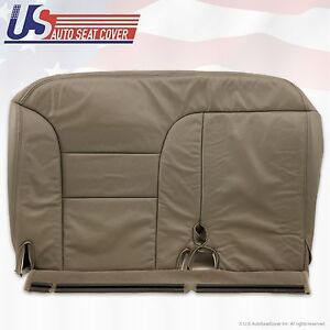 """Chevy 1995 to 1999 K1500 K2500 Driver Bench Seat Cover """"Tan"""" 60/40 configuration"""