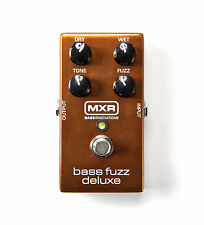 MXR M84 Bass Fuzz Deluxe Bass Guitar Effects Pedal!