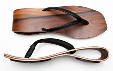 "Marita Huurinainen WAVE ""Luoto"" Finland Wooden Sandals Womens' Size 8/9M"