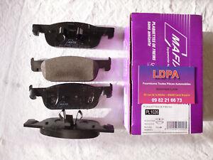 Jeu 4 plaquettes de frein avant Renault Clio IV / estate  (LDPA44)