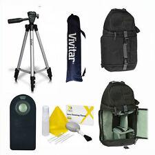 "VIVITAR PHOTO 50"" TRIPOD + BACKPACK  REMOTE FOR Panasonic Lumix DMC-G7"
