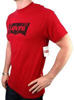 NEW NWT LEVI'S MEN'S PREMIUM CLASSIC  COTTON T-SHIRT SHIRT TEE RED