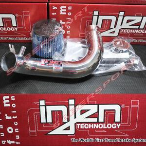 Injen IS Polish Short Ram Air Intake kit for 91-95 Acura Legend 3.2L V6 NON-TCS