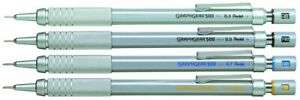 Pentel Graphgear Mechanical Pencil 500 Metallic - Select Size