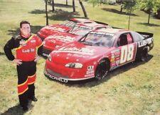 1995 Bobby Dotter Lub-Tek Chevy Monte Carlo NASCAR postcard