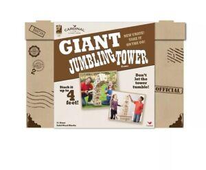 Cardinal Giant Sized Jumbling Tower Block Game - Stack up to 4 feet!  Free Ship