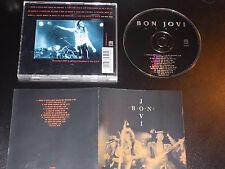 Bon Jovi live U.S.A 1992  Very Rare German Import CD