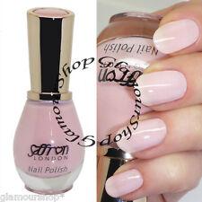 Glossy Nail Polish Varnish by Saffron London #60 PINK French Manicure