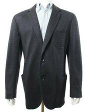 Ermenegildo Zegna IT 60 US 50 Dark Gray Sport Coat Blazer Silk Cashmere NEW NWT