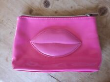 Pink Lips Wash/Makeup Bag