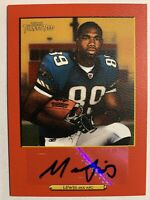 2006 Topps Turkey Red Auto Marcedes Lewis Rookie 60/199 Autograph