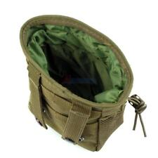 Outdoor Airsoft Molle Pouch Tactical Magazine Ammo Drop Utility Bag W Drawstring